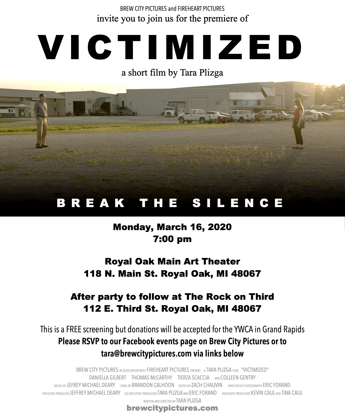VICTIMIZED - Premiere Invite